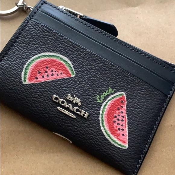 Coach keychain wallet 🍉